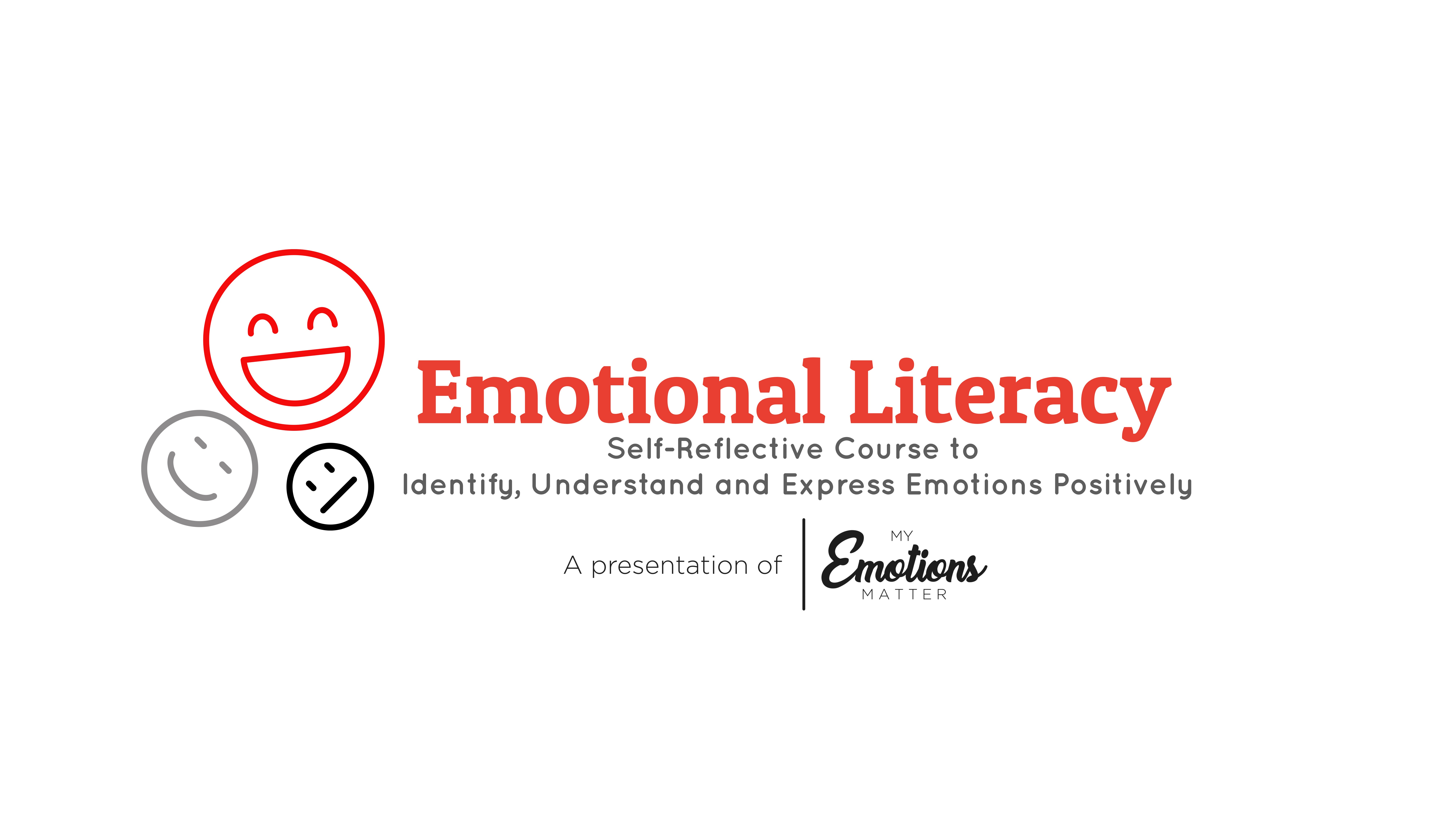 Emotional Literacy   Program for Schools / Colleges