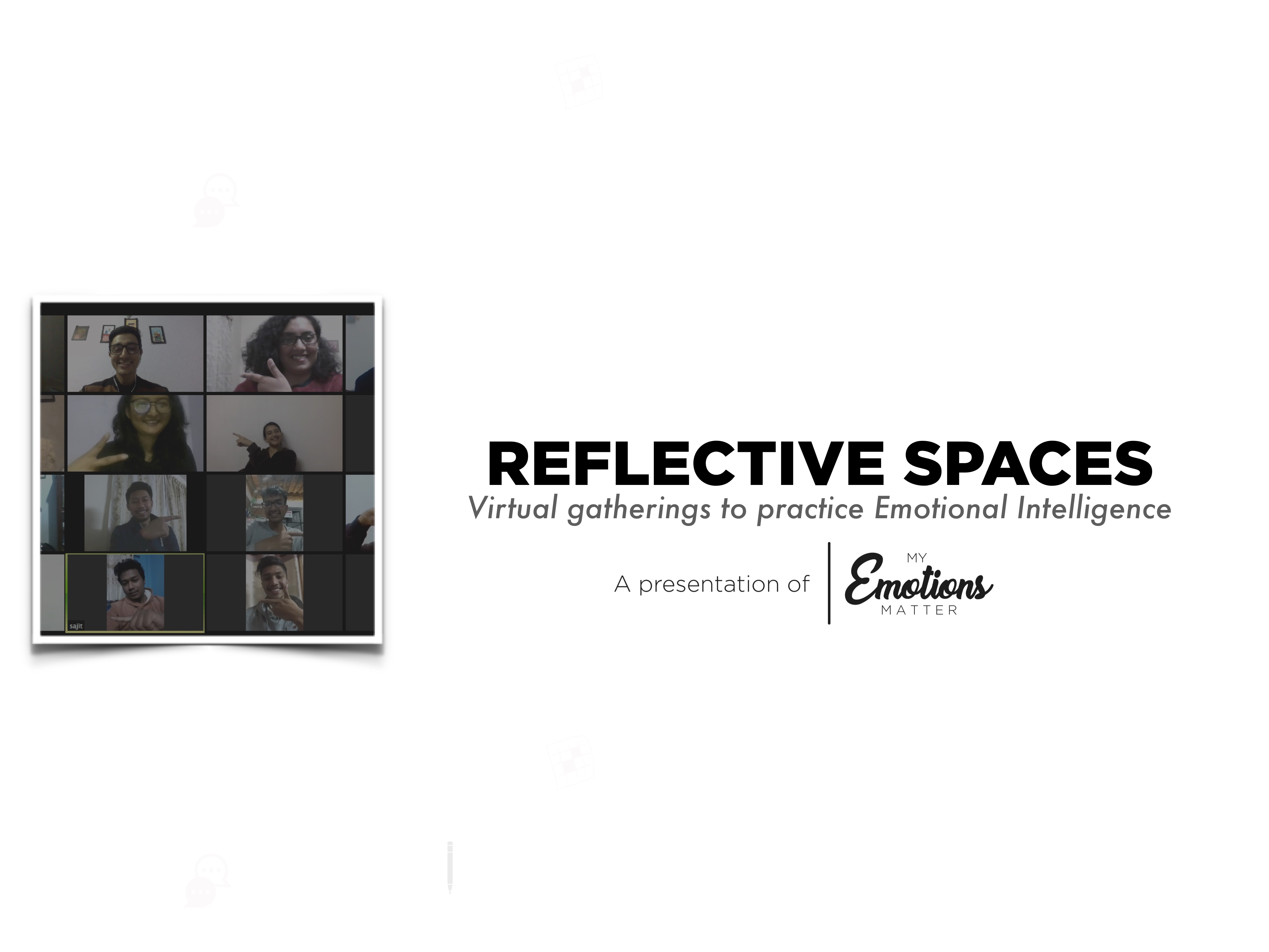 Reflective Spaces   Program for Individuals